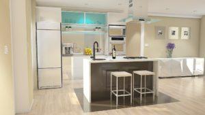 Quels sont les avantages d'aménager une cuisine en alu?
